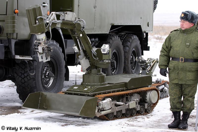 Мобильный робот МРК-46 (MRK-46 robot)