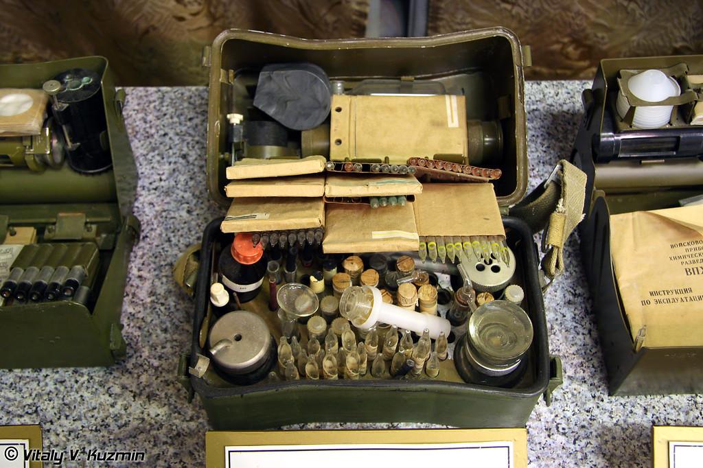 Медицинский прибор химической разведки МПХР (Medic chemical reconnaissance device MPKhR)