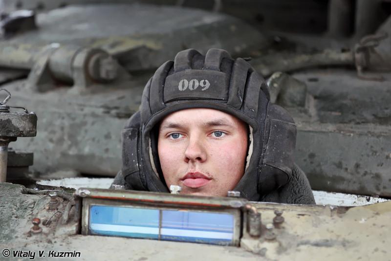 Механик-водитель боевой машины БМ-1 (BM-1 driver)