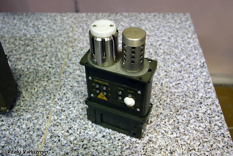 Общевойсковой автоматический газосигнализатор ГСА-3 (Automatic gas detector GSA-3)