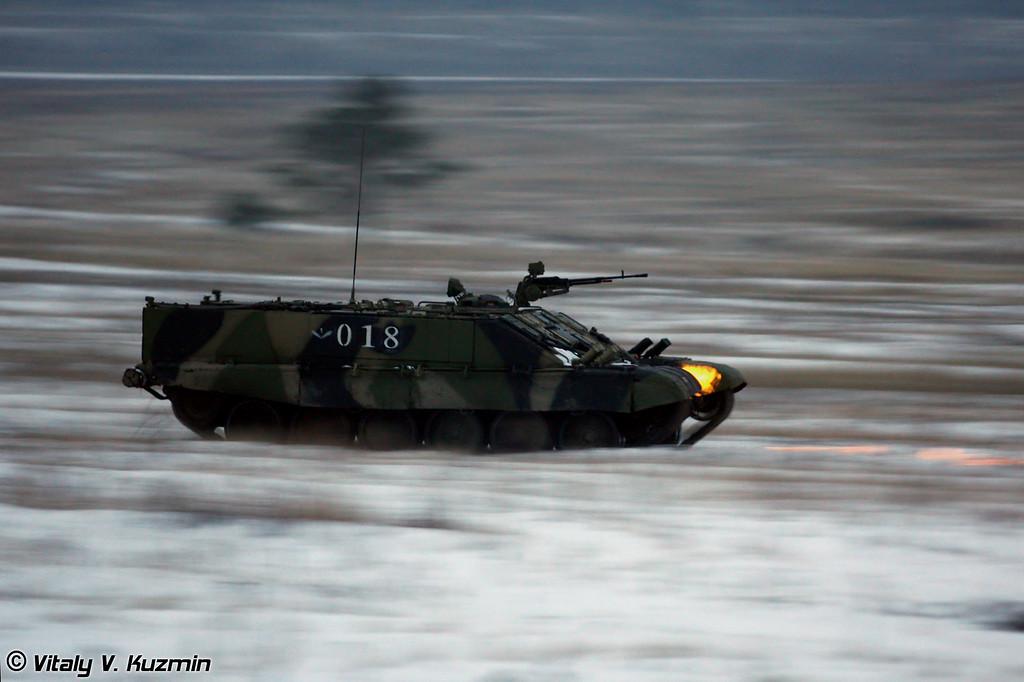 Боевая машина огнеметчиков БМО-Т (Transport vehicle for flamethrower operators BMO-T)