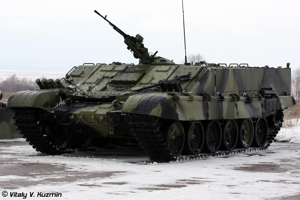 Тяжелая боевая машина огнеметчиков БМО-Т (Heavy flamethrower personnel carrier BMO-T)