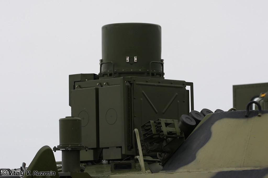 Разведывательно-поисковая машина РПМ-2 (Reconnaissance and searching vehicle RPM-2)<br /> Наземный комплекс радиационной разведки НКР (Land radiological reconnaissance device NKR)