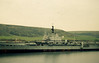 HMS Centaur at Cairn Ryan (Breakers' Yard), Stranraer. c.1972