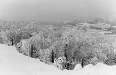View over Murmansk; November 1997
