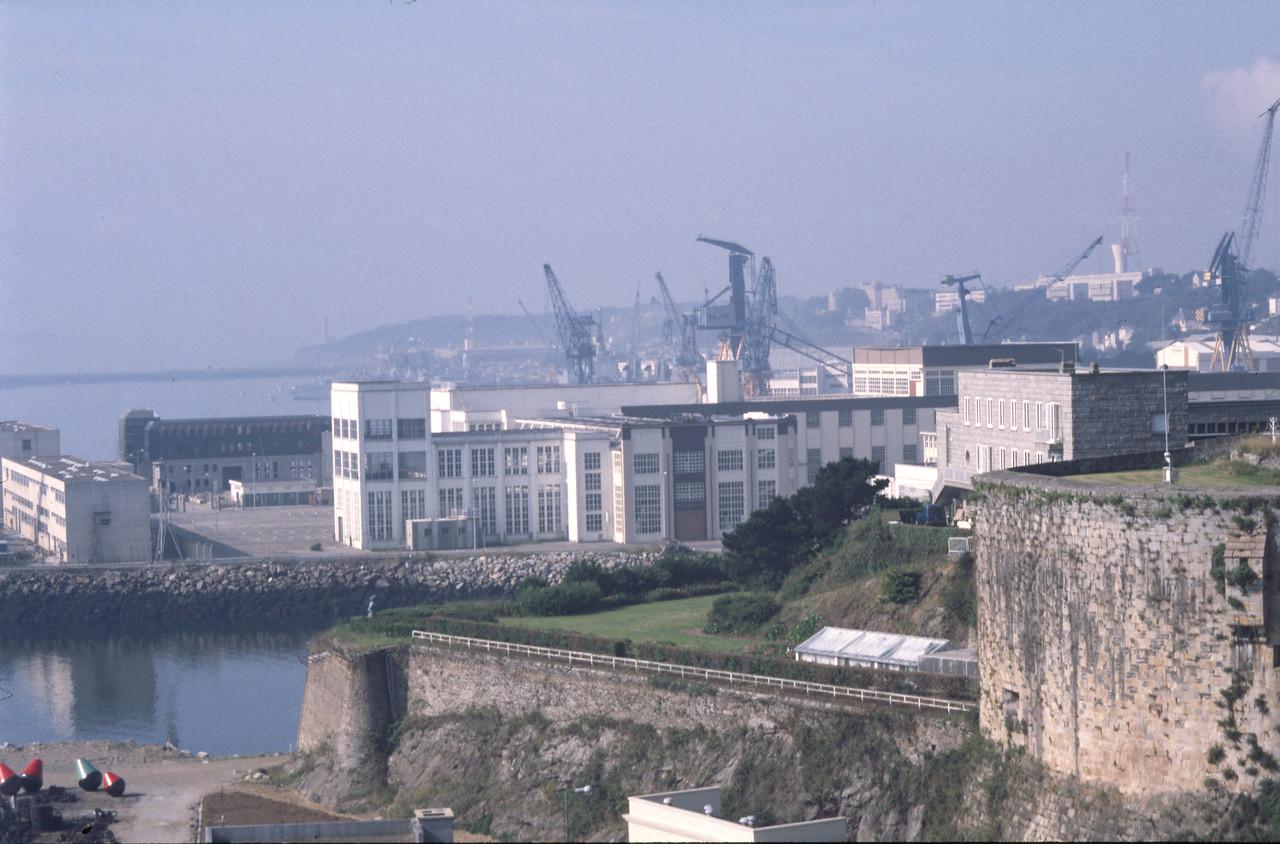 Brest Naval Base, Bretagne, France