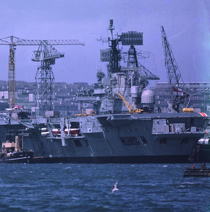 HMS Ark Royal: Devonport 1972