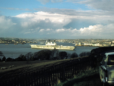 HMS Eagle, decommissioned: Devonport.