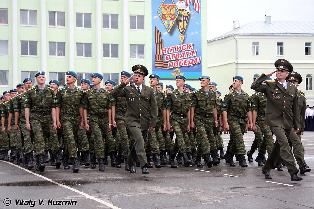 Прохождение торжественным маршем (March past)