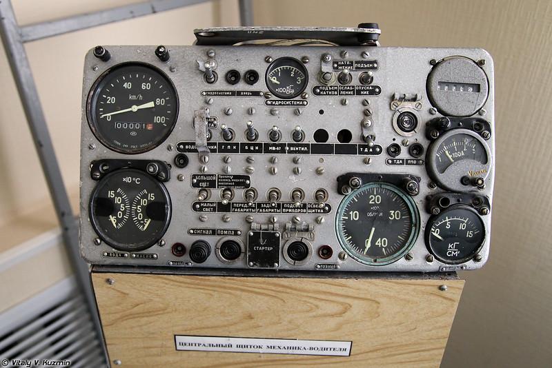 Центральный щиток механика-водителя БМД-1/2 (BMD1/2 driver control panel)
