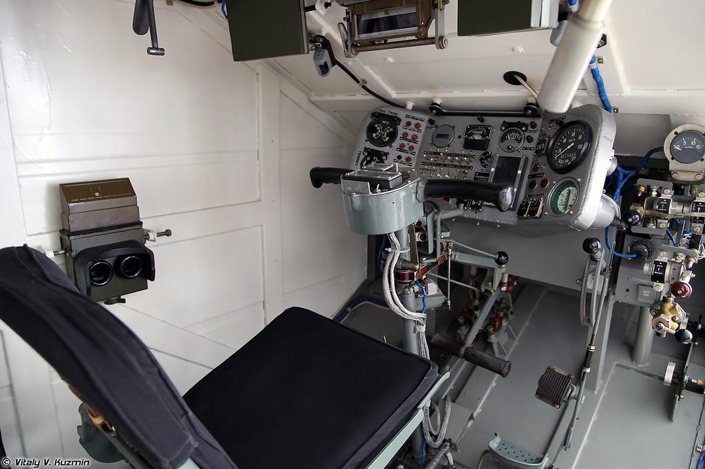 Тренажер БМД-3 (BMD-3 simulator)