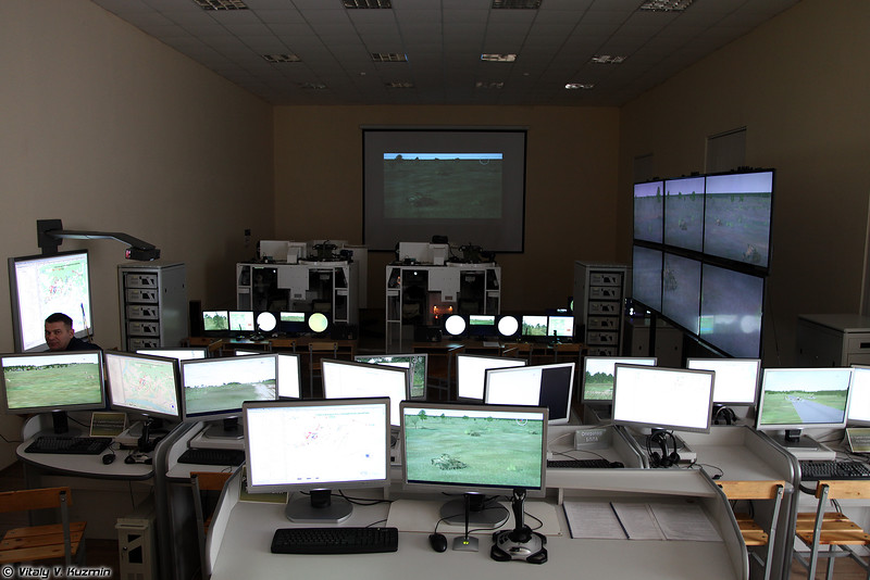 Кафедра тактики - комплексный тренажер уровня взвода/роты (Tactical simulator for platoon/company level)