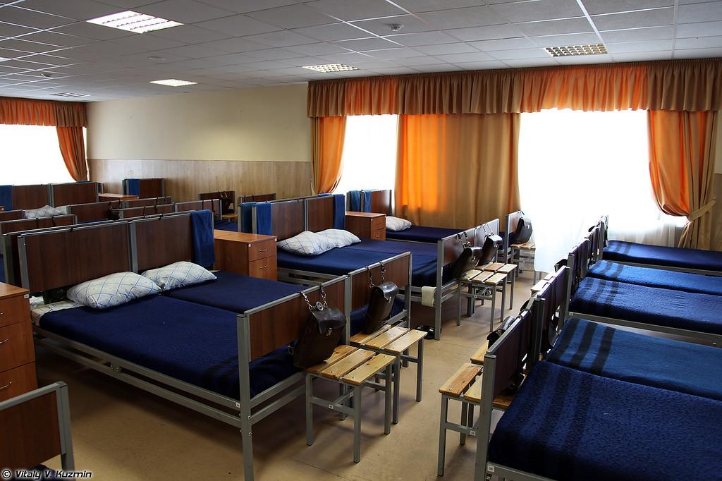 Расположение одного из учебных подразделений (Barracks)