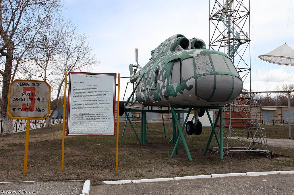 Воздушно-десантный комплекс для отработки всех действий при совершении прыжков (Airborne training range)