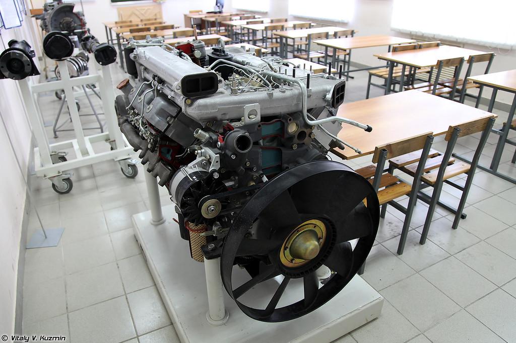 Класс изучения автомобилей КАМАЗ (KAMAZ trucks classroom)