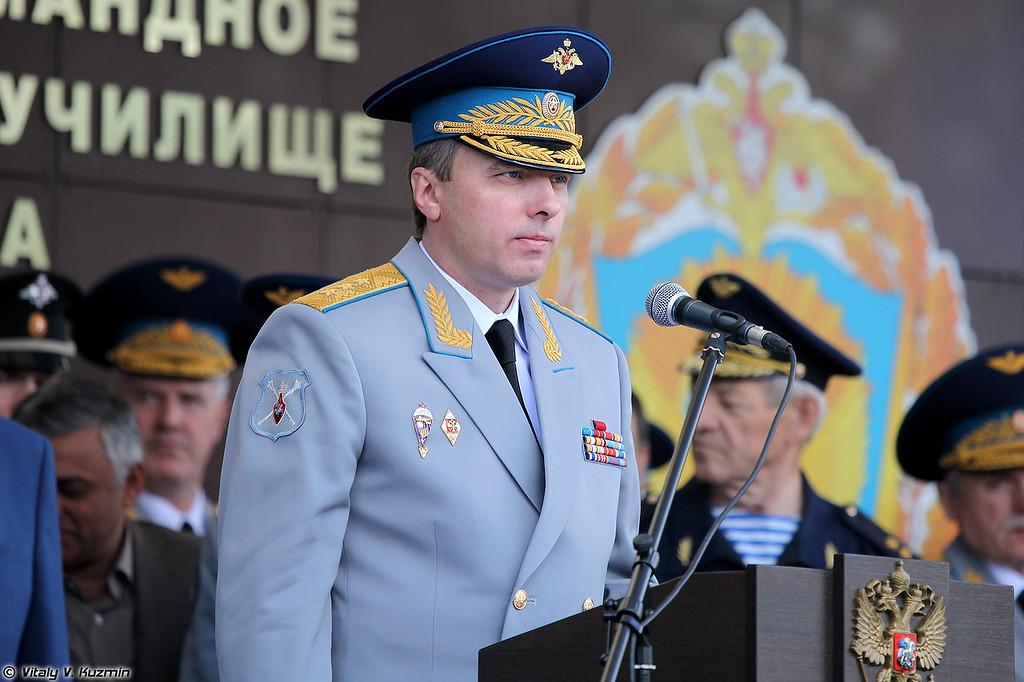 Заместитель Министра обороны Российской Федерации генерал-полковник Юрий Садовенко (Deputy Minister of Defence of Russia colonel general Yuriy Sadovenko)