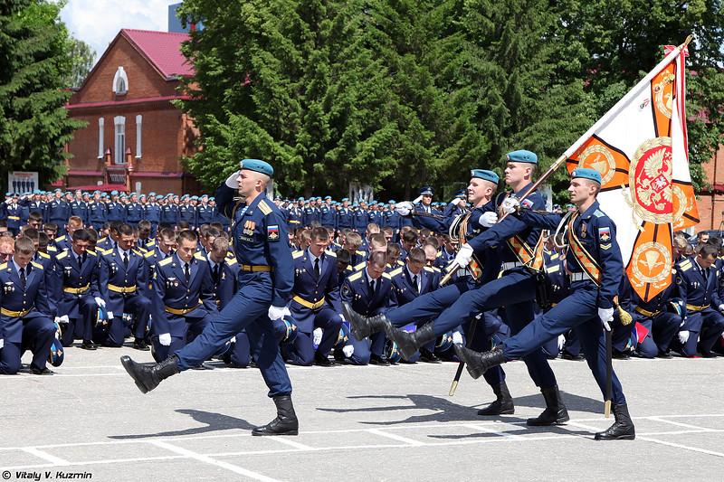Церемония прощания с Боевым Знаменем училища (Traditional ceremony of farewell to The Combat Banner)