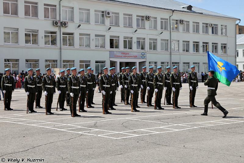 Традиционное выступление почетного караула (Honour Guards show)