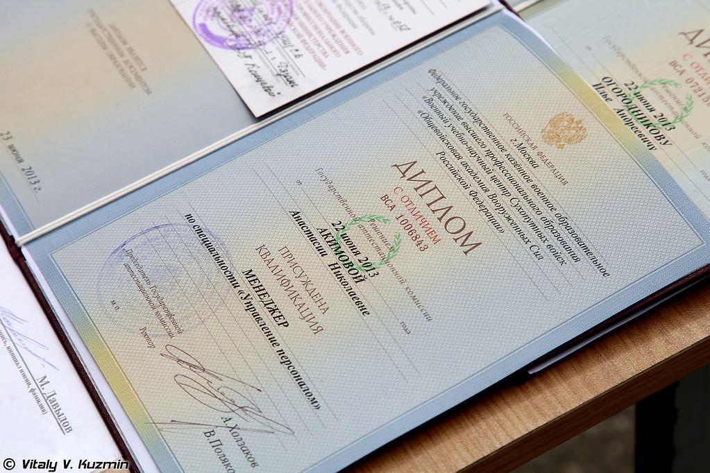 132-й выпуск в Рязанском высшем воздушно-десантном командном училище имени генерала армии В.Ф. Маргелова (Ryazan High Military Airborne Command School graduation ceremony)