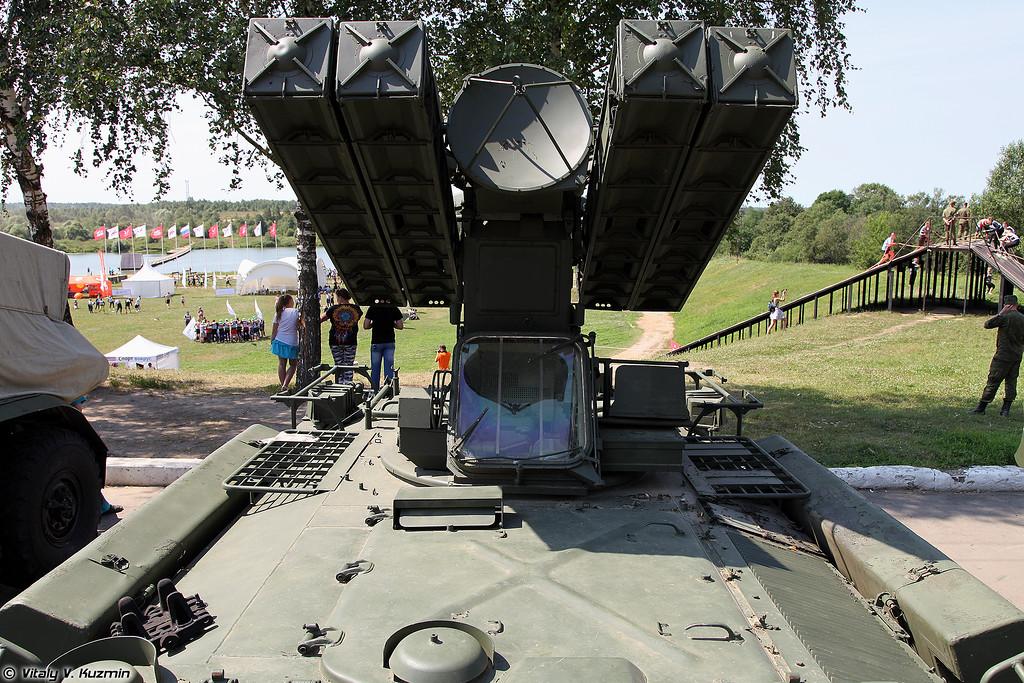 Боевая машина ЗРК Стрела-10М3 (Strela-10M3)