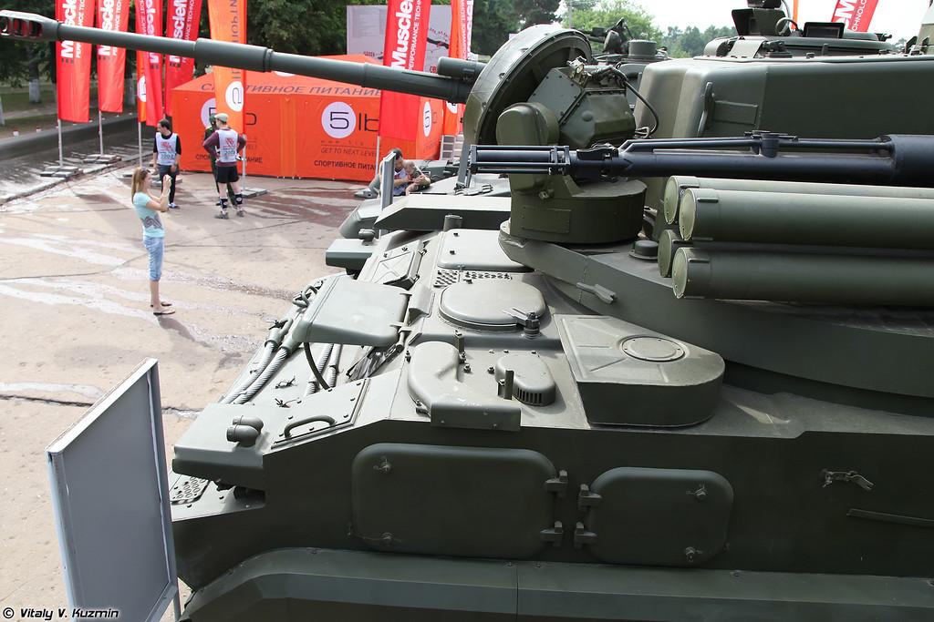 2С6М Тунгуска-М (2S6M Tunguska-M)