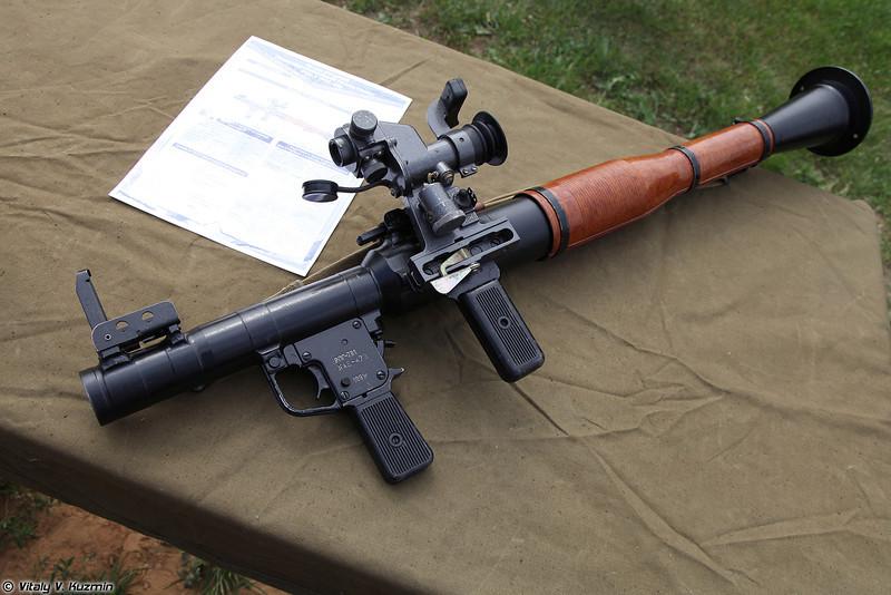 Гранатомет РПГ-7В1 (RPG-7V1 grenade launcher)