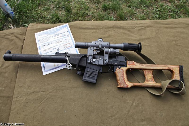 Снайперская винтовка ВСС Винторез (VSS Vintorez sniper rifle)