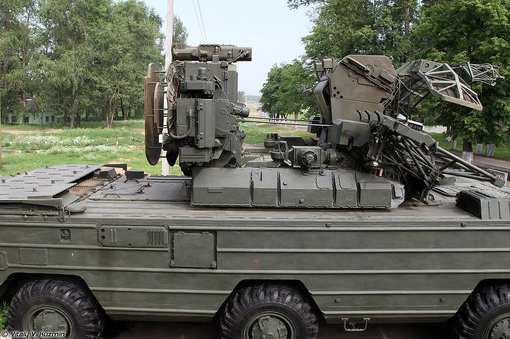Боевая машина ЗРК 9К33М3 Оса-АКМ (9K33M3 Osa-AKM)