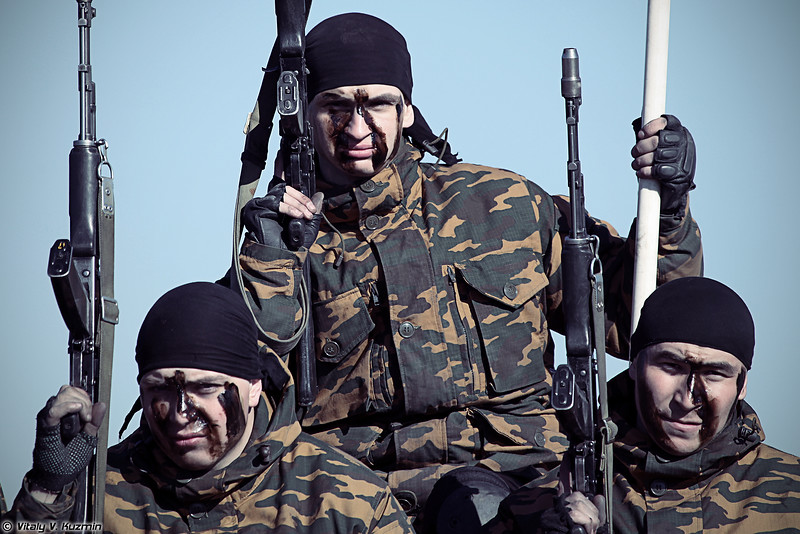 33-й ОСН Пересвет ВВ МВД России (33rd OSN Peresvet of Internal troops)