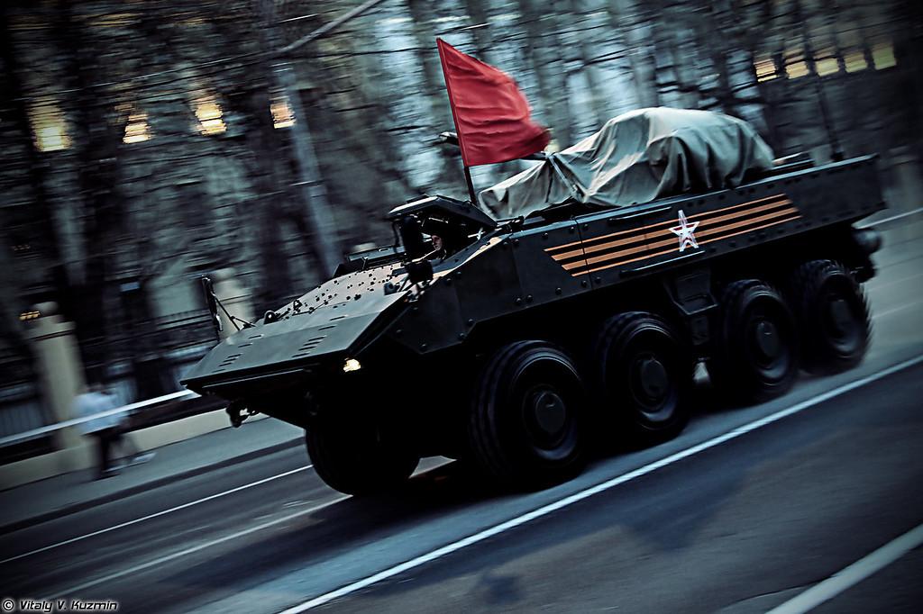 ВПК-7829 на унифицированной колесной боевой платформе Бумеранг (VPK-7829 on unified wheeled combat platform Bumerang)