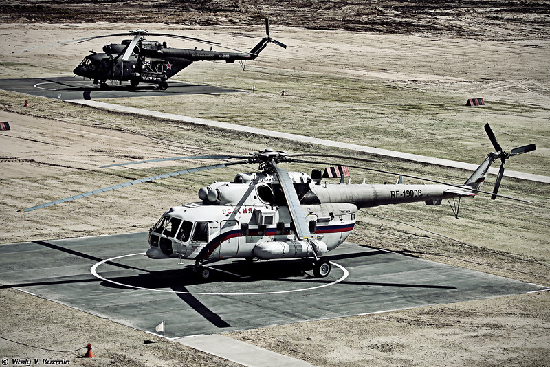 Ми-8АМТ-1 и Ми-8АМТШ (Mi-8AMT-1 and Mi-8AMTSh)