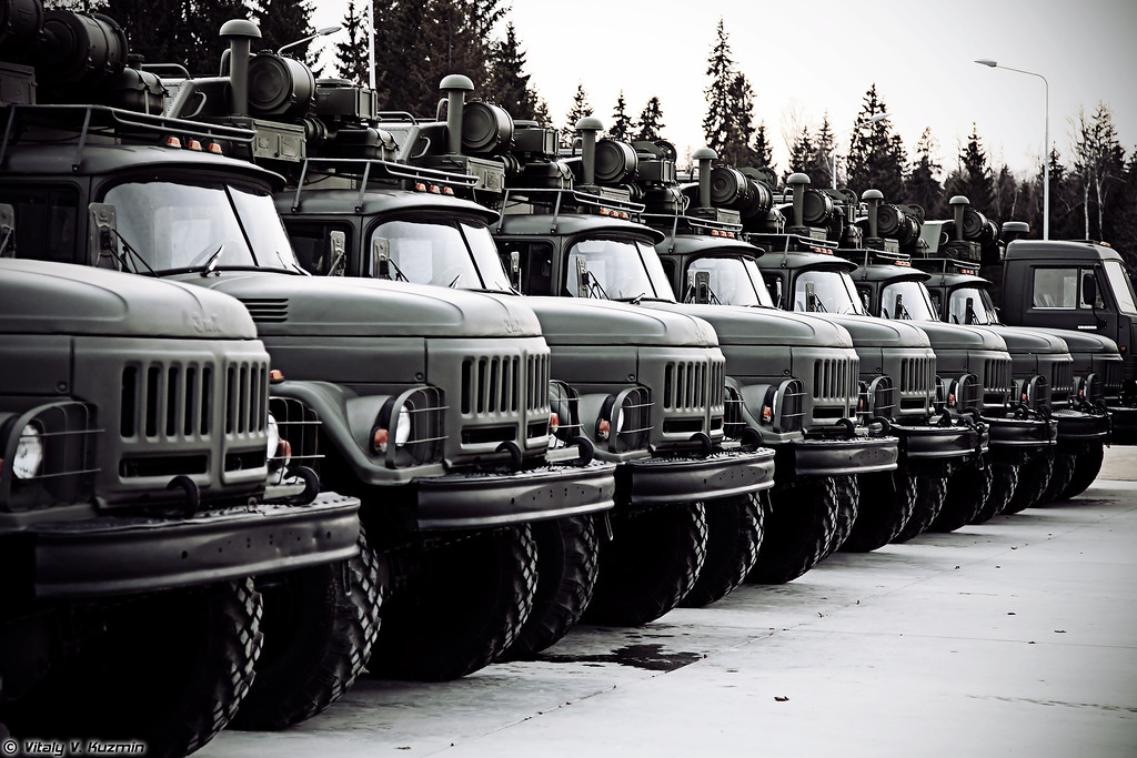 МТОшки (Technical assistance and maintenance vehicles)