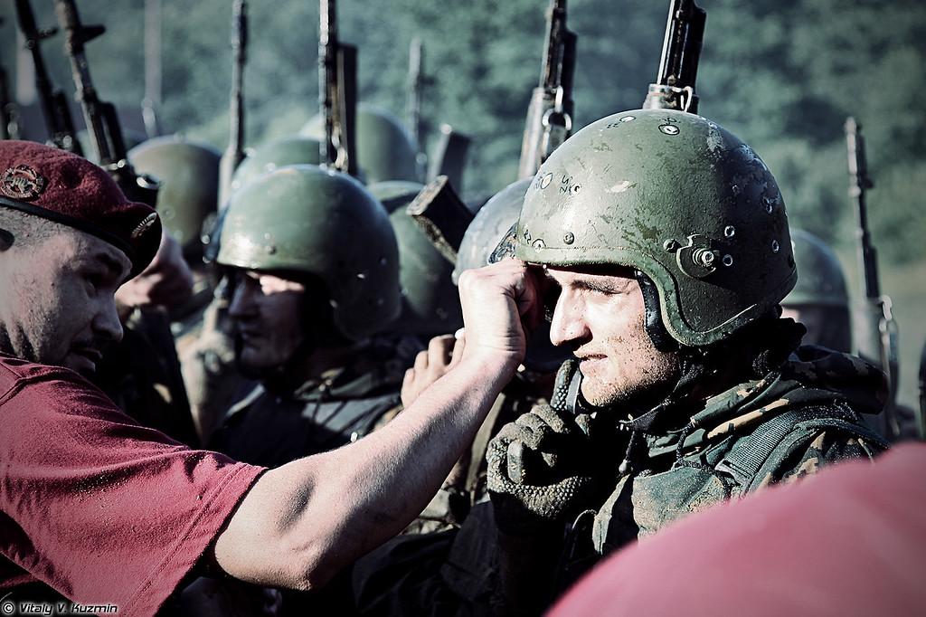 Экзамен на право ношения крапового берета (Crimson beret qualification test)