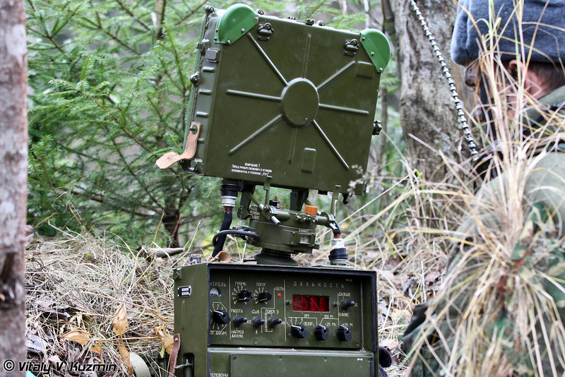 Станция ближней разведки СБР-3 (Short-range reconnaissance device SBR-3)