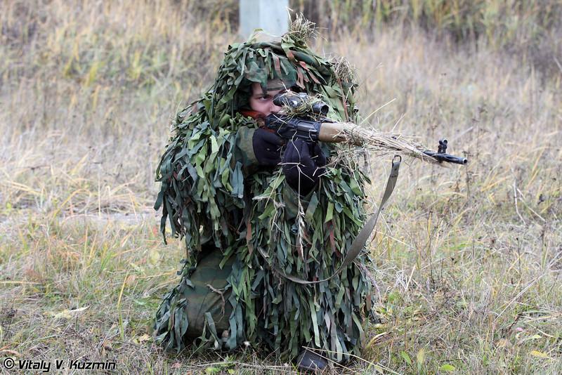 Работа снайперской пары (Snipers)