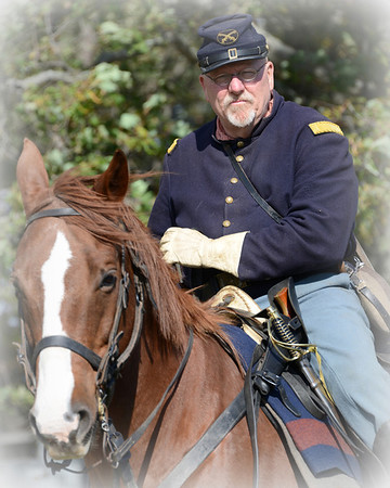Civil War Reenactment - Dollinger Farm - Channahon, Illinois - October 19, 2013