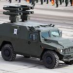 ??????????????? ???????? ???????? ??????-?1 ?? ???? ???-233116 ????-? (Kornet-D1 ATGM system on VPK-233116 Tigr-M chassis)