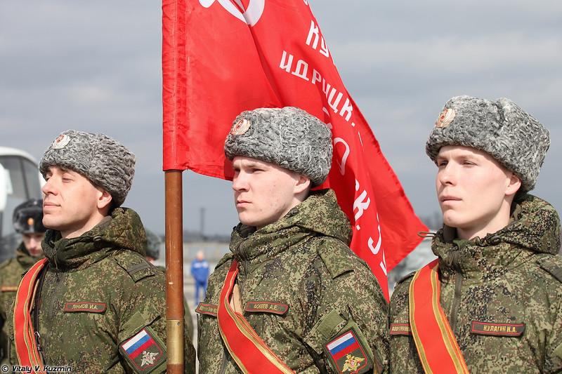 Знаменная группа со Знаменем Победы (Honour Guards with The Banner of Victory)