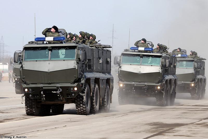 Бронеавтомобиль КАМАЗ-63968 Тайфун-К (KAMAZ-63968 Typhoon-K)