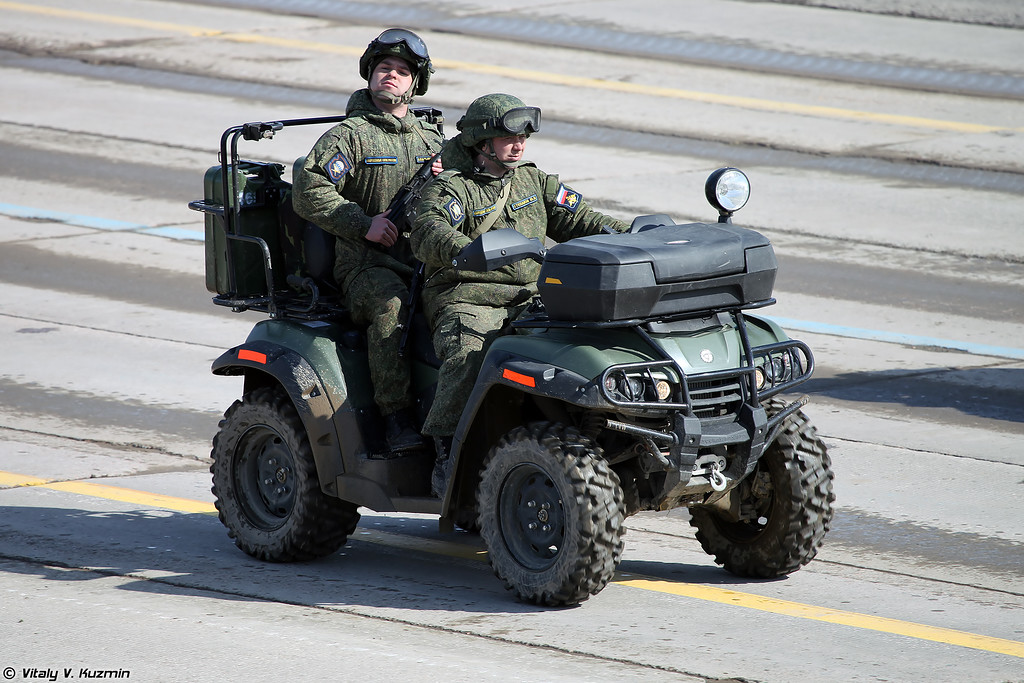 Армейский мотовездеход АМ1 (AM1 ATV)