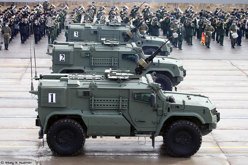 Бронеавтомобиль К-4386-ПВО Тайфун-ПВО (K-4386-PVO Typhoon-PVO armored vehicle)