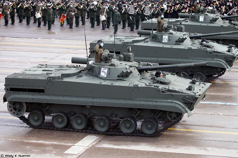БМП-3 с прицелом Б03С03 Содема (BMP-3 with B03S03 Sodema sight)