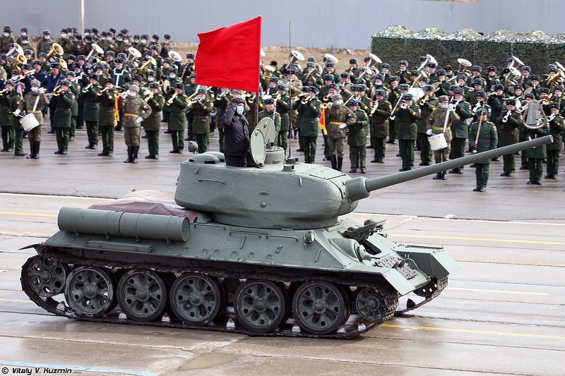 Танк Т-34-85 (T-34-85 tank)