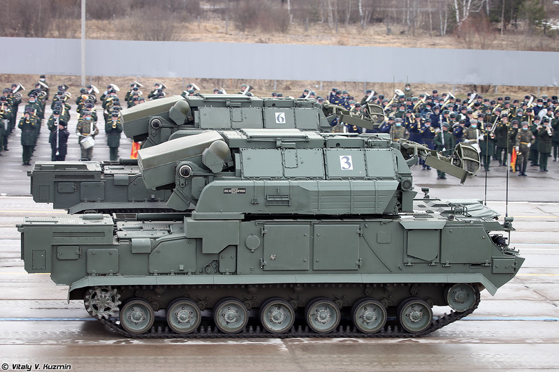 Боевая машина 9А331М ЗРК 9К331М Тор-М2 (9A331M TLAR 9K331M Tor-M2)
