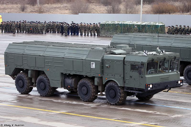 СПУ 9П78-1 ОТРК Искандер-М (9P78-1 TEL Iskander-M)