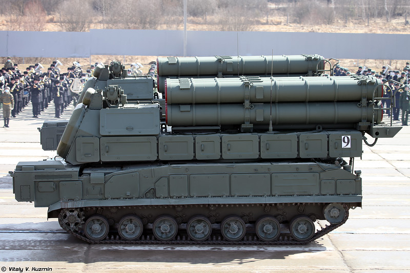 СОУ 9А317М ЗРК 9K317M Бук-M3 (9A317M TELAR of 9K317M Buk-M3)