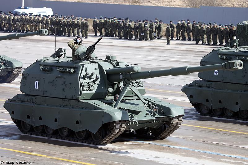 САУ 2С19М2 Мста-С (2S19M2 Msta-S)