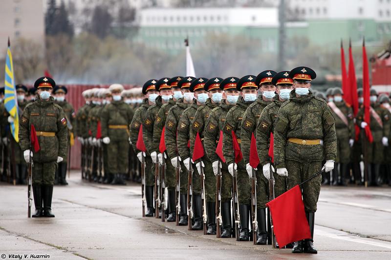 154 отдельный комендантский Преображенский полк (154th Independent Commandant Regiment)