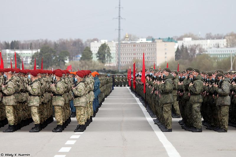 ОДОН и 27 гв. омсбр (Dzerzhinsky Division and 27th Interdependent Guards Sevastopolskaya Motor Rifle Brigade)