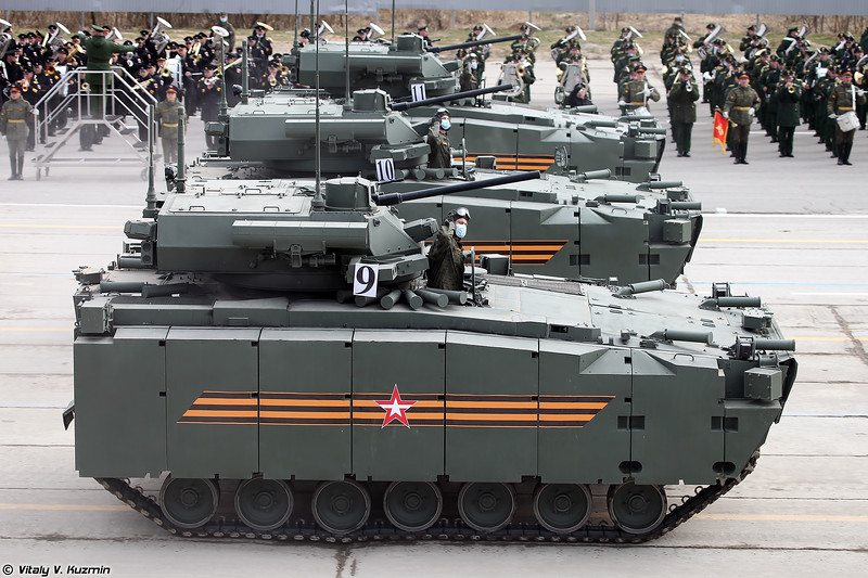 БМП Б-11 объект 695 Курганец-25 с БМ Эпоха (B-11 object 695 Kurganets-25 with Epokha turret)